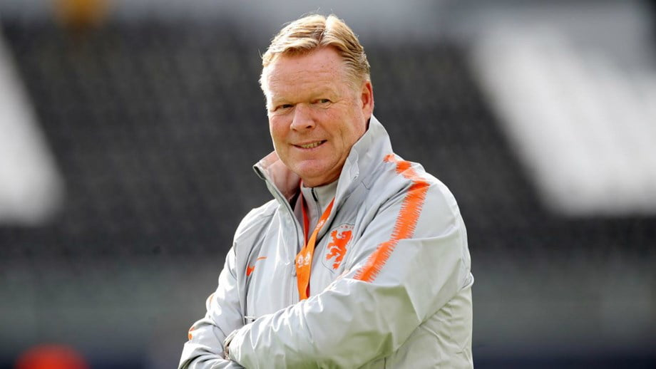 Koeman art plans in Barcelona